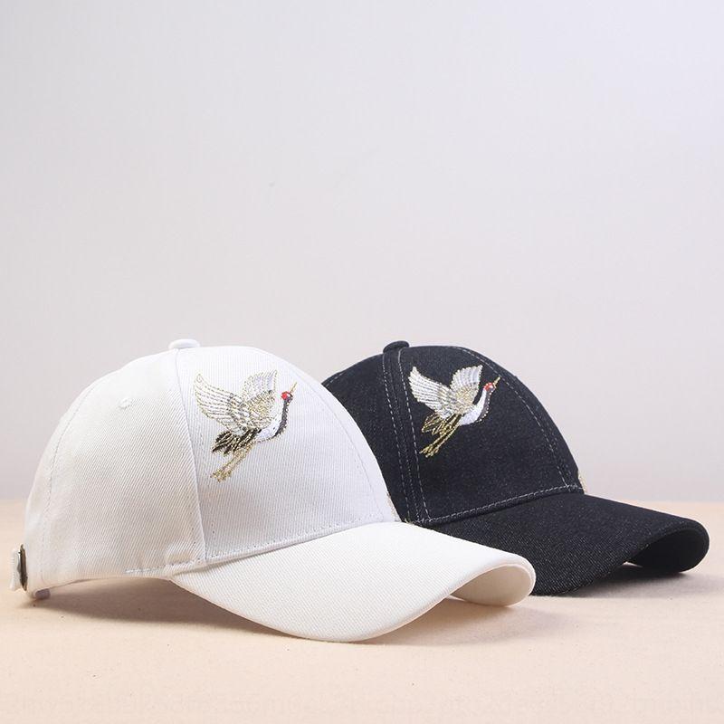uomini yAQGn cappello da cowboy berretto da baseball da baseball capembroidered gru moda nazionale casuale del tutto-fiammifero esterno protezione solare denim cap chi