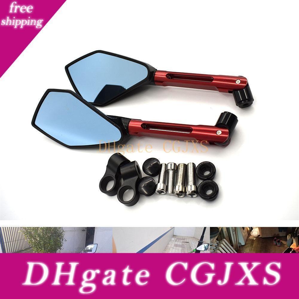 Para CNC alumínio Espelhos Acessórios Motos espelho retrovisor para Suzuki Boulevard C50 C90 S40 S50 S83 M50 M90 M109R C109r
