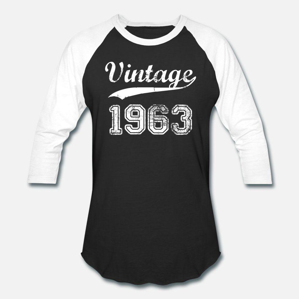 1963 hombres de la camiseta de manga corta Interesante Diseño O-Cuello Estilo Natural Verano divertido camisa delgada