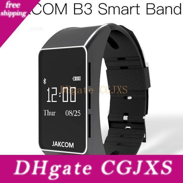 Jakcom B3 Смарт часы Горячие продажи в Смарт нарукавье Как игровой компьютер F64hr Xaomi