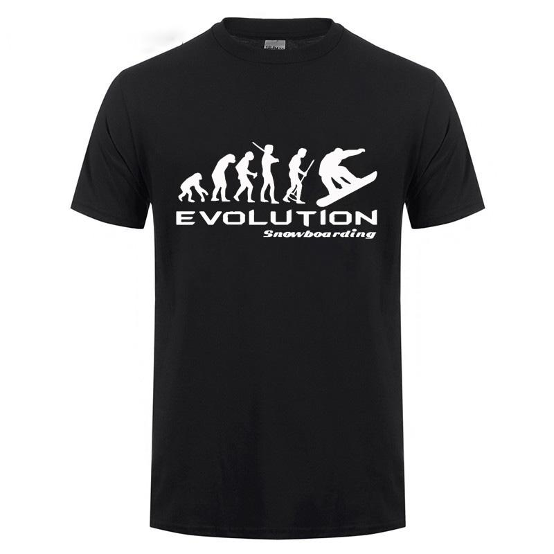 De snowboard camiseta - Camiseta divertida Darwin cómico retro Tad camiseta