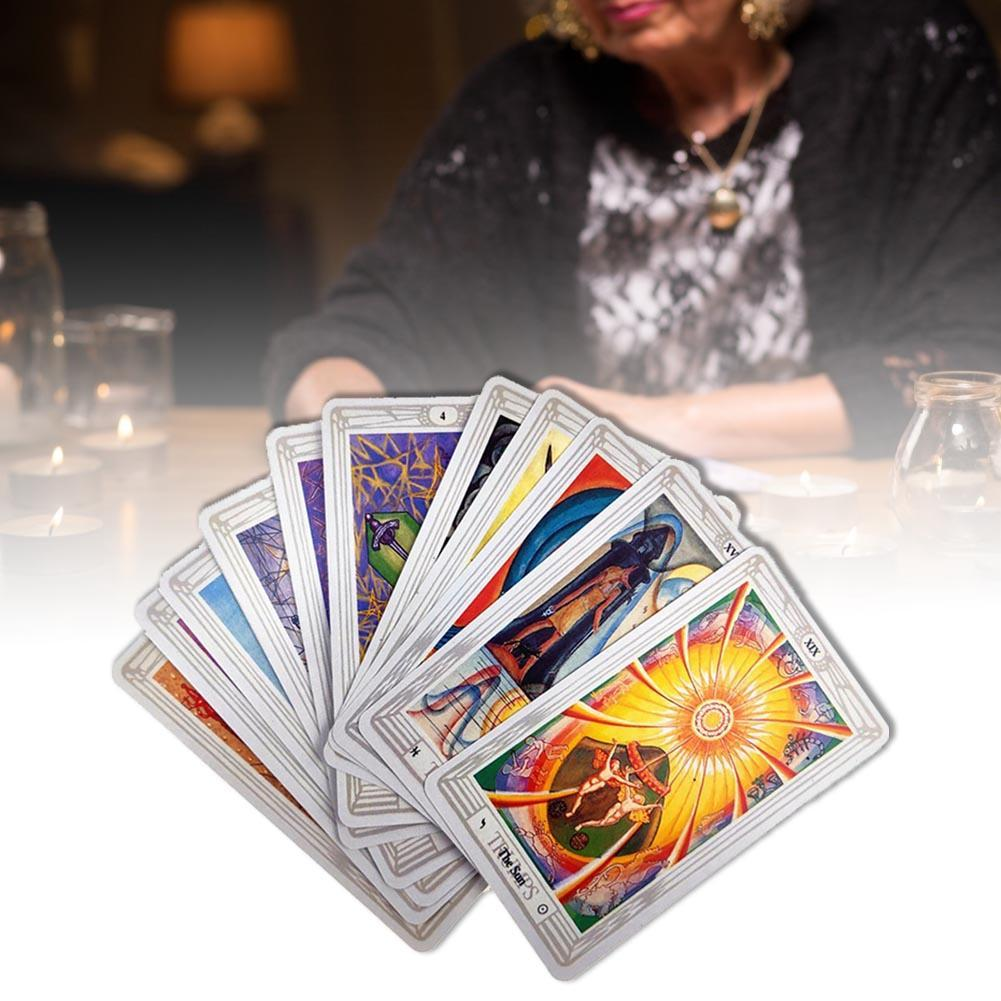 Gift Cards Deck Thoth spettacolo Party Pz Listello Per 78 carta dei Tarocchi di gioco Tarocchi giochi Gioco Family Table qylXsg qqcp