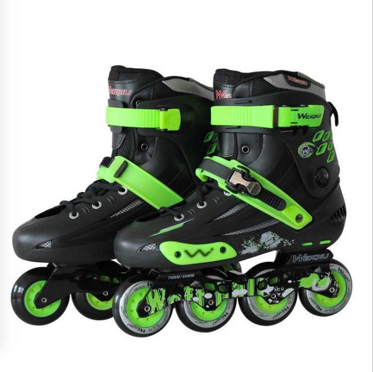 Inline Roller Skates Erwachsene Männer und Frauen Professionelle Flache Skate Schuhe