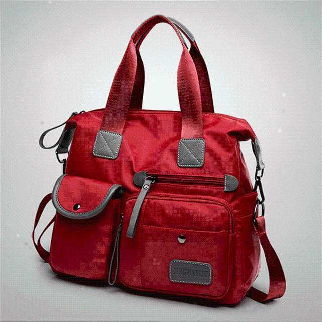Moda bolsa de ombro saco mulheres grandes impermeável crossbody nylon capacidade marca messenger qualidade bolsa de bolsa feminino saco alto mnacg