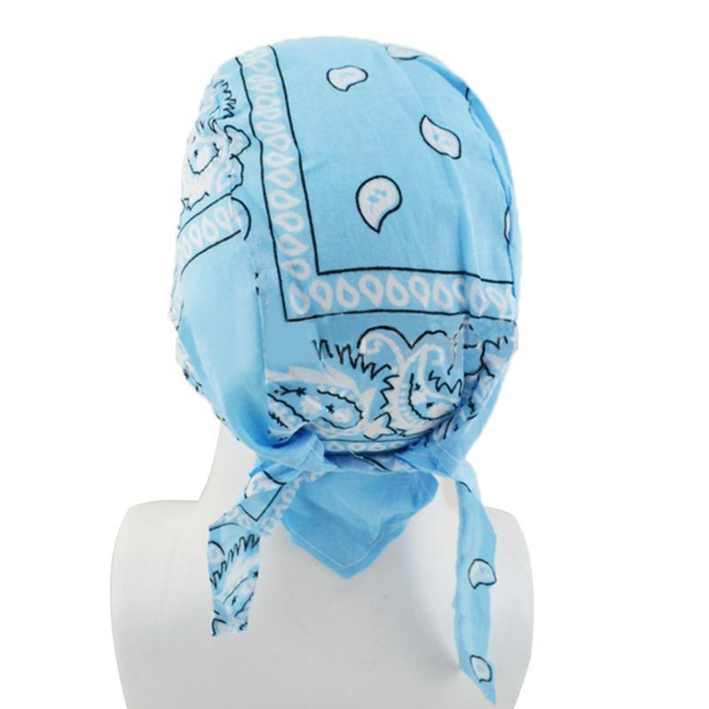 Daily Running Costume Polyester Outdoor Fashion Lightweight Biker Cycling Print Head Wrap