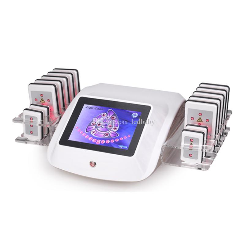 으로 vedio 휴대용 아름다움 장비 manunal 및 뜨거운 판매 리포 레이저 lipolaser 슬리밍 기계 레이저 지방 제거는 무료 배송을 승인