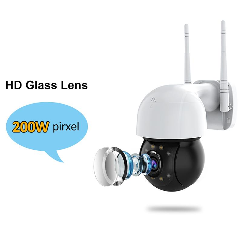 1080P HD PTZ Ip Camera Wireless Wifi CCTV Security Surveillance Cameras Dome Mini AI Human Detection Night Vision Audio Talk