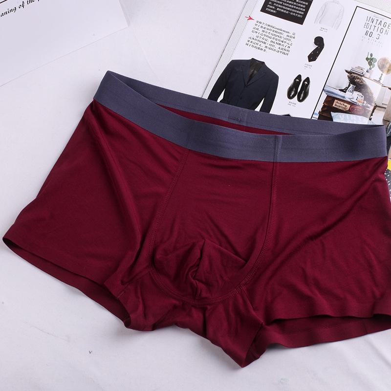 Intimo seamless metà vita pantaloni biancheria intima del pugile del pugile nIpdV degli uomini di seta del ghiaccio degli uomini sexy pantaloni traspirante un pezzo