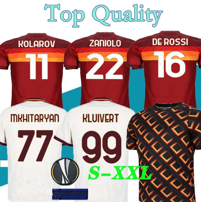 S-XXL 2020 Tailandia DE ROSSI DZEKO ZANIOLO roma 20 camiseta de fútbol 21 Totti Perotti Jersey 19 20 camiseta de fútbol kit 2020 camisetas de los hombres roma