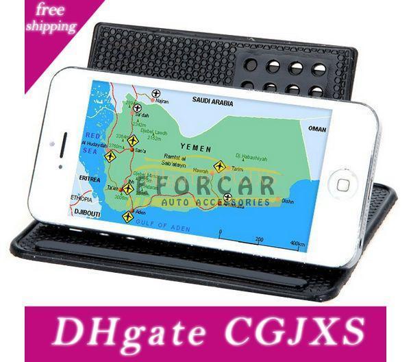 360 Degree Car Mount Holder Anti -Slip Mat Bracket For Gps Navigator Mobile Phone