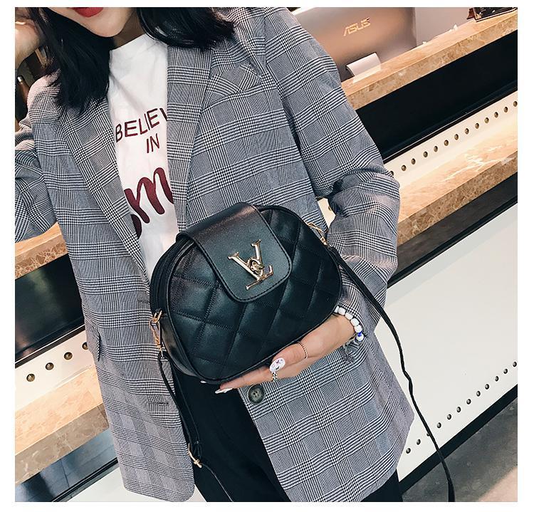 мешкиLOUISLV # 13; Мода женщин Мини-дизайнер сумки плеча нового прибытия Plain Женщины сумки Versatile женщин сумки высокого качества Qui
