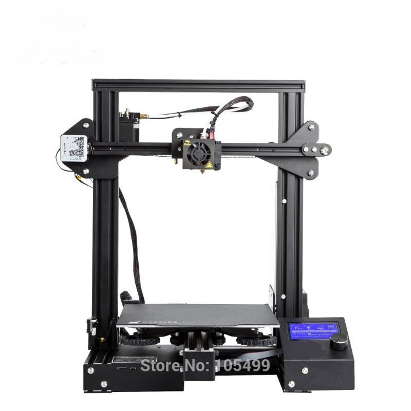 DIY Creality Эндер 3 про 3d печати FLA нить печать бесплатная доставка