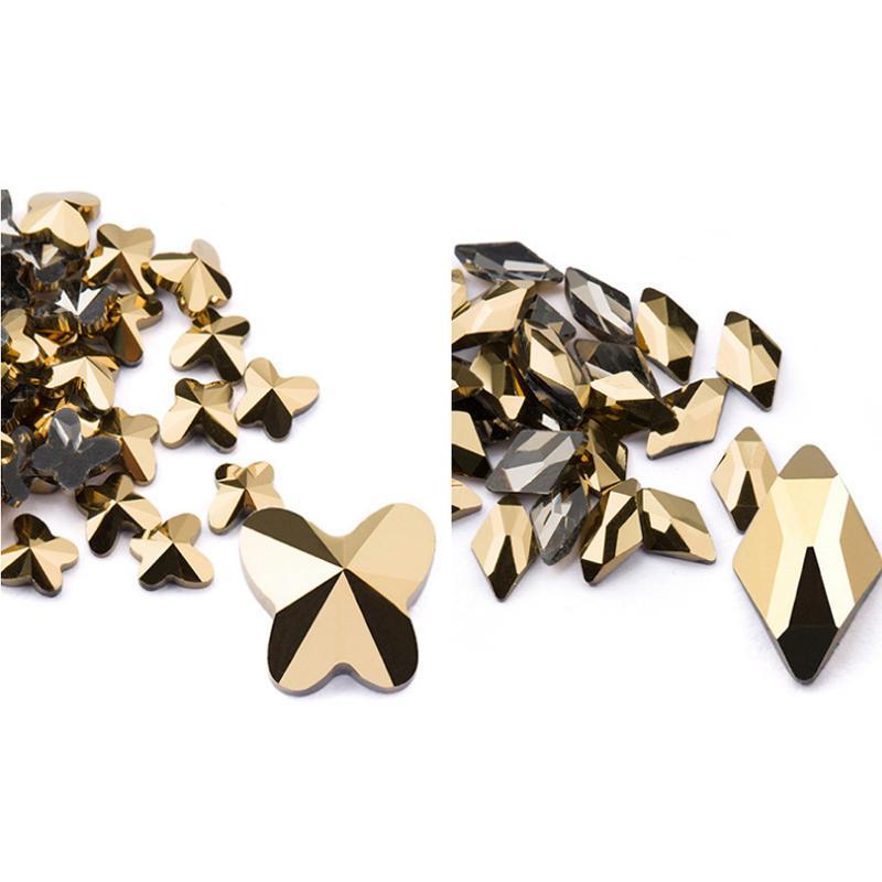 Unhas diy decoração Art cristais em forma de diamante broca strass Contas unhas Acessórios