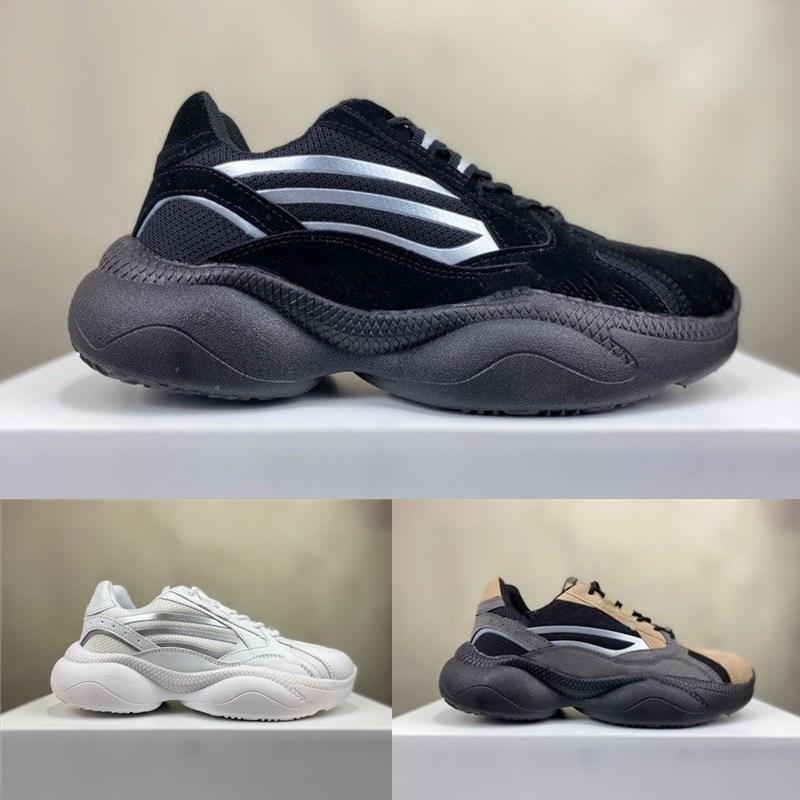 Rápido entregado de alta calidad Sneaky Sneaker Superstar 3M Cómodo Todo el partido Construido en la altura invisible Classic Dad Sneakers para zapatos de hombre