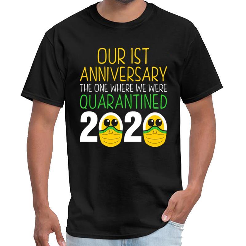Отпечатано Нашего Первой годовщина карантин 2020 Tshirt тигр короля рубашка женщина undertale тенниска 3xl 4xl 5xl верхний тройник
