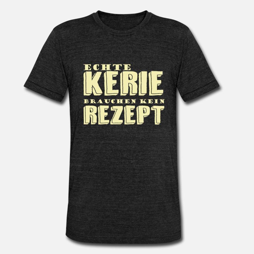 Echte Kerle Brauchen Kein Rezept Koch Geschenk hombres de la camiseta de manga corta para requisitos particulares Tamaño S-3XL Camisa fresca famoso cómico del estilo del verano normal