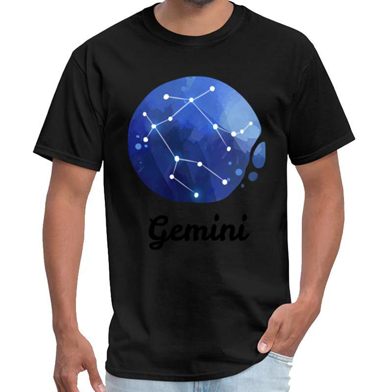 Moda İkizler Burç t gömlek 3XL 4XL 5XL hiphop üstleri Westfalia Takımyıldızlar Astroloji Hediyesi yungblud t gömlek kadınları yap