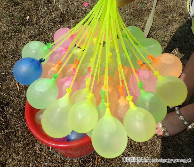 1 STÜCKE = 1111ballon Bunte Wasser gefüllt Ballon Bündel Ballons Erstaunliche Magie Wasser Ballon Bomben Spielzeug Füllung Ballons Spiele Kinder CXKGO
