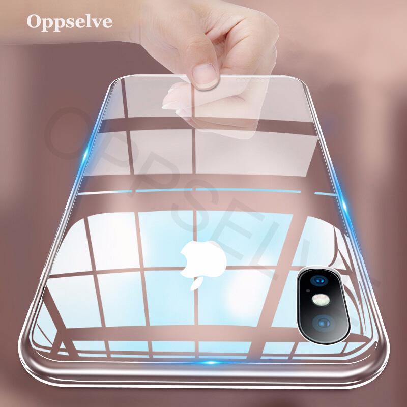 cgjxsLuxury Fall für Iphone ultra-dünne dünne weiche TPU Silikon-Hülle für iPhone Xr 8 Coque Fundas Capa