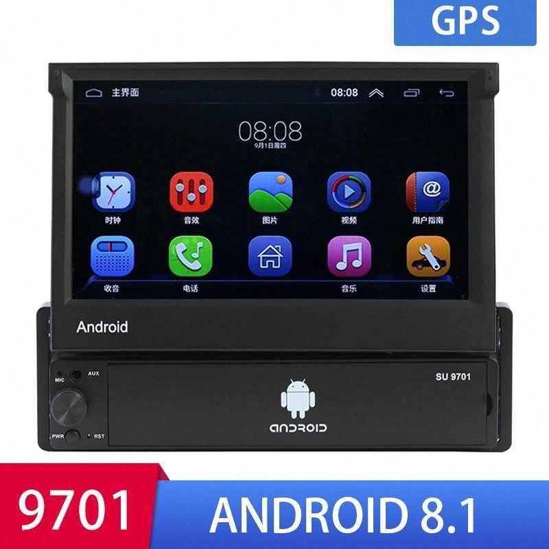 7 '' Android Autoradio-Stereo GPS Navigation Subwoofer Bluetooth USB SD 2 Din-Touch-Auto-Multimedia-Player Audio-Spieler Autoradio Tqau #