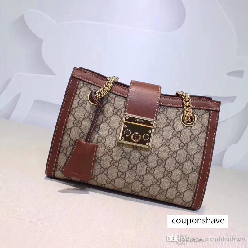 Moda Womenmen melhores Ladies Shoulder Bag Satchel Tote Bolsa 88Messenger Crossbody Handbagt novo clássico carteira 498.156 26..18..10cm