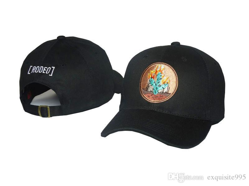Brand New Outdoor Visor Travis Scott Strapbacks chapeaux 6 panneau hommes et Lettrine Baseball expédition de B03 Femme