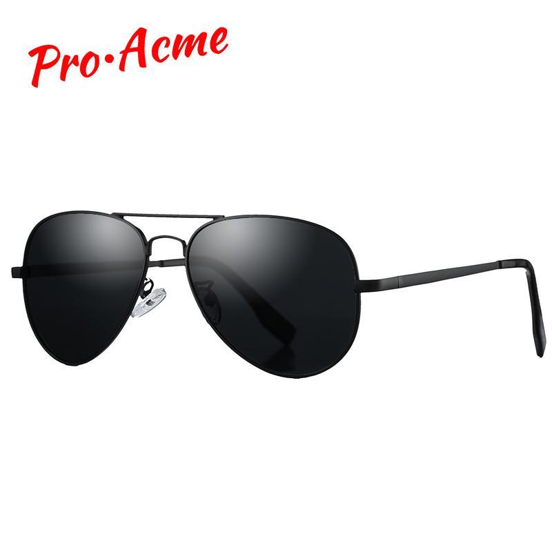Pro Acme Klassische polarisierten Sonnenbrillen für Männer Frauen Metall Pilot Sonnenbrillen Driving Brillen 58mm UV400 mit Fall PA1095 MX200619