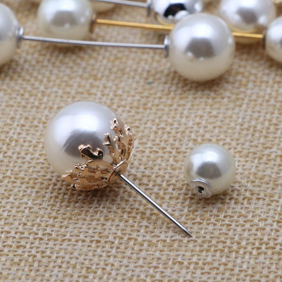 Anti-exposition Broche perle accessoires à broches Broche perles broches de cuivre pur tout-match anti-exposurebrooch