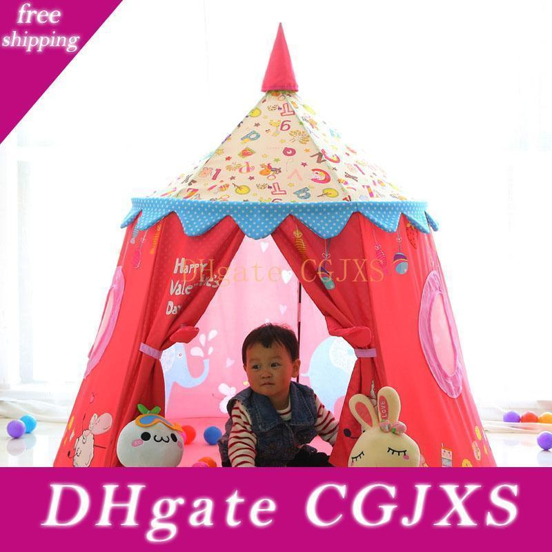 Children S Tent Toy Game Fence Ball Pool Portable Princess Girl S Castle Play House Kids Small House Folding Yurt