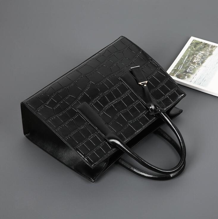 Qualitäts-Frauen Handtaschen Totes große Kapazitäts-Kleid-Dame-Bag Temperament Geschäftsreise-Tasche