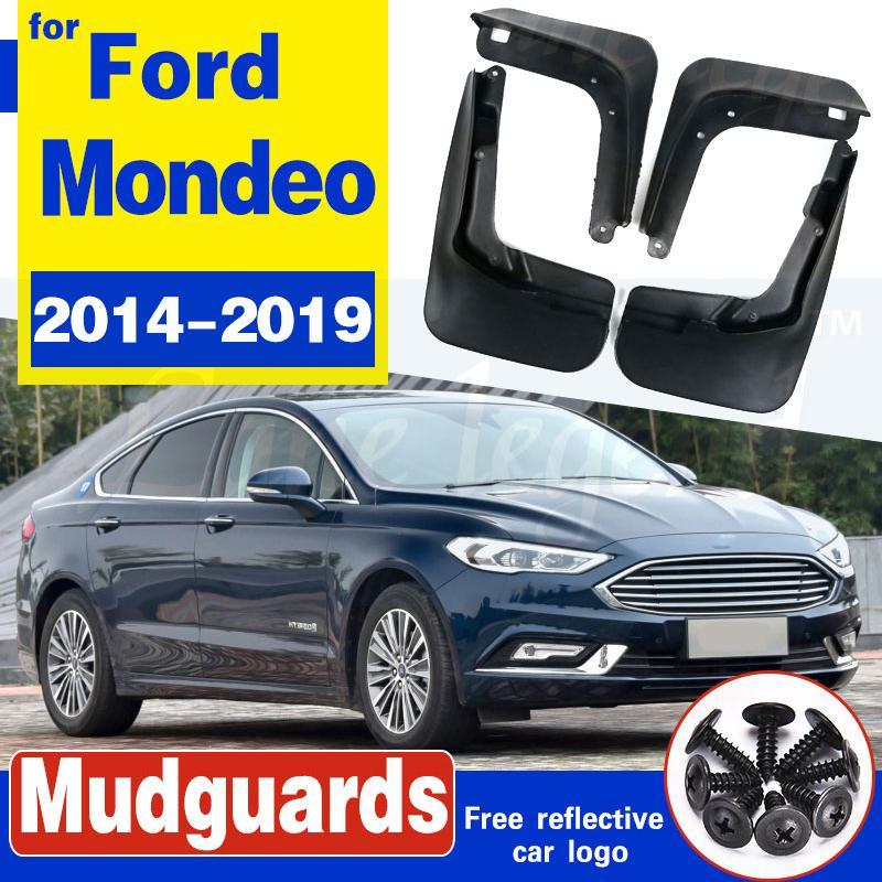 Für Ford Fusion Mondeo 2014 2015 2016 2017 2018 2019 Set Molded Mud Flaps Spritzschutz Kotflügel vorne Kotflügel hinten
