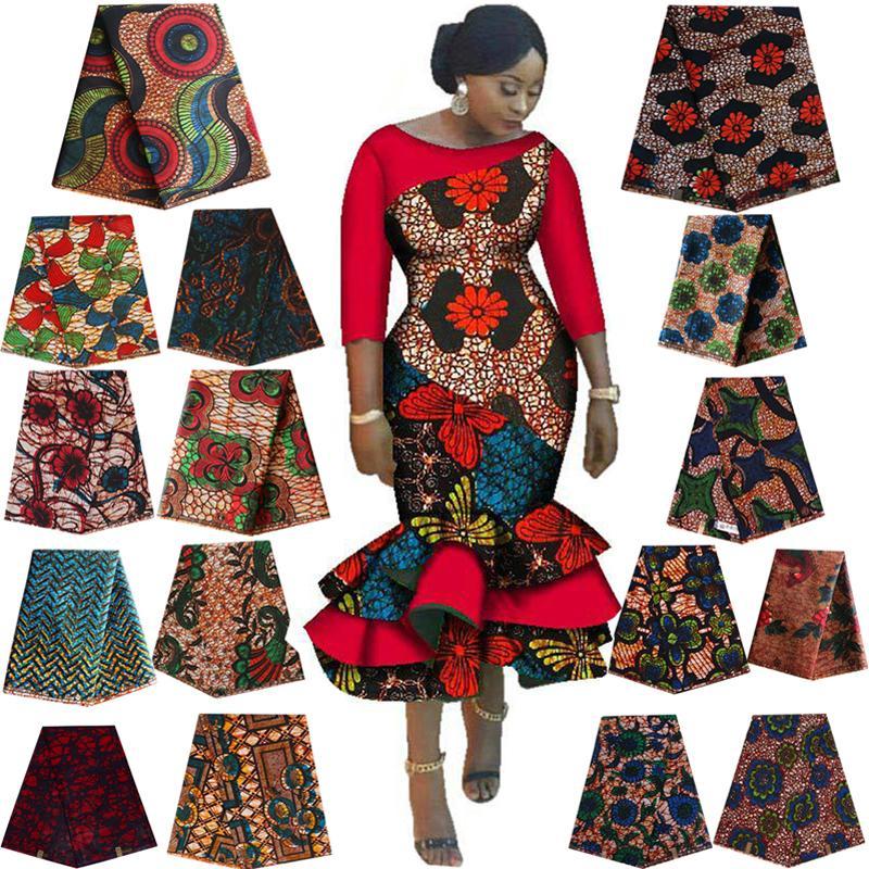 Cera reale africana Ankara batik stampe doppio tessuto Africa Tissu di alta qualità tessuto di cotone per cucire per dr fare il mestiere di DIY