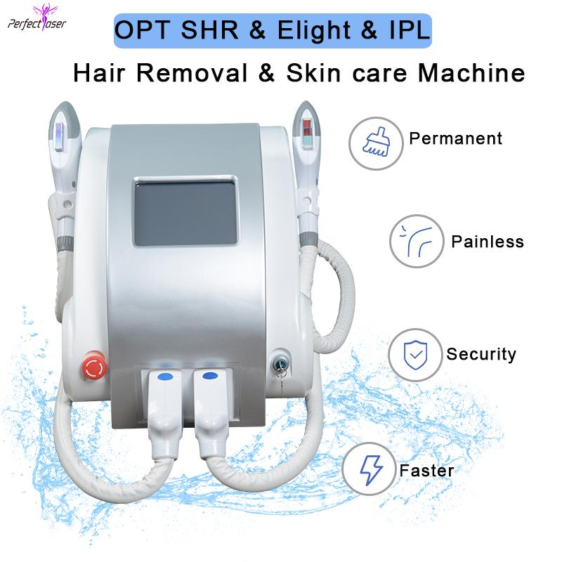 ipl machine épilation elight opt ​​beauté machine elight épilation permanente équipement spa machine laser