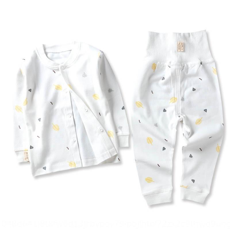 B0IKb Frühling Unterwäsche für Kinder und Herbst Kleidung Herbst Hosen reine Baumwolle neugeborene Baby-Kleidung männlichen und weiblichen Baby Unterwäsche Kinder