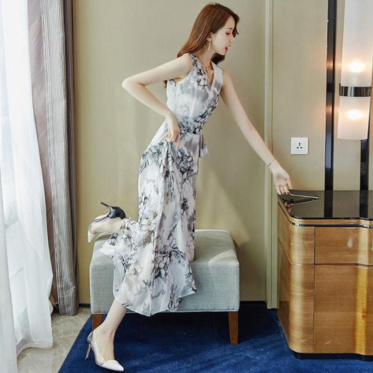 yI1Rm uXk0G пляж юбка юбки пляж Лонг богемной летнего платье талия шнуровка тонкие приморском отпуск в середине длиной платья