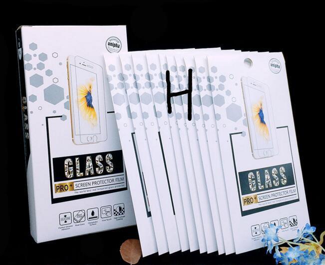 Svuotare vetro temperato al minuto della scatola per IPhone 11 X XS 8 7 6 6S Inoltre schermo del telefono Temper protezione di vetro Solo Box