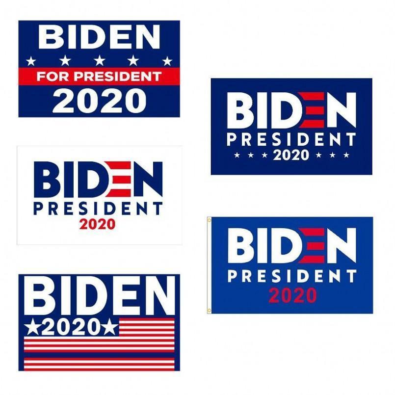 جو بايدن 2020 العلم رسالة دعم معارضة جو بايدن رئيس الولايات المتحدة الأمريكية 3 * 5 أقدام 90 * 150cm وأعلام لافتة كبيرة معلقة ترامب