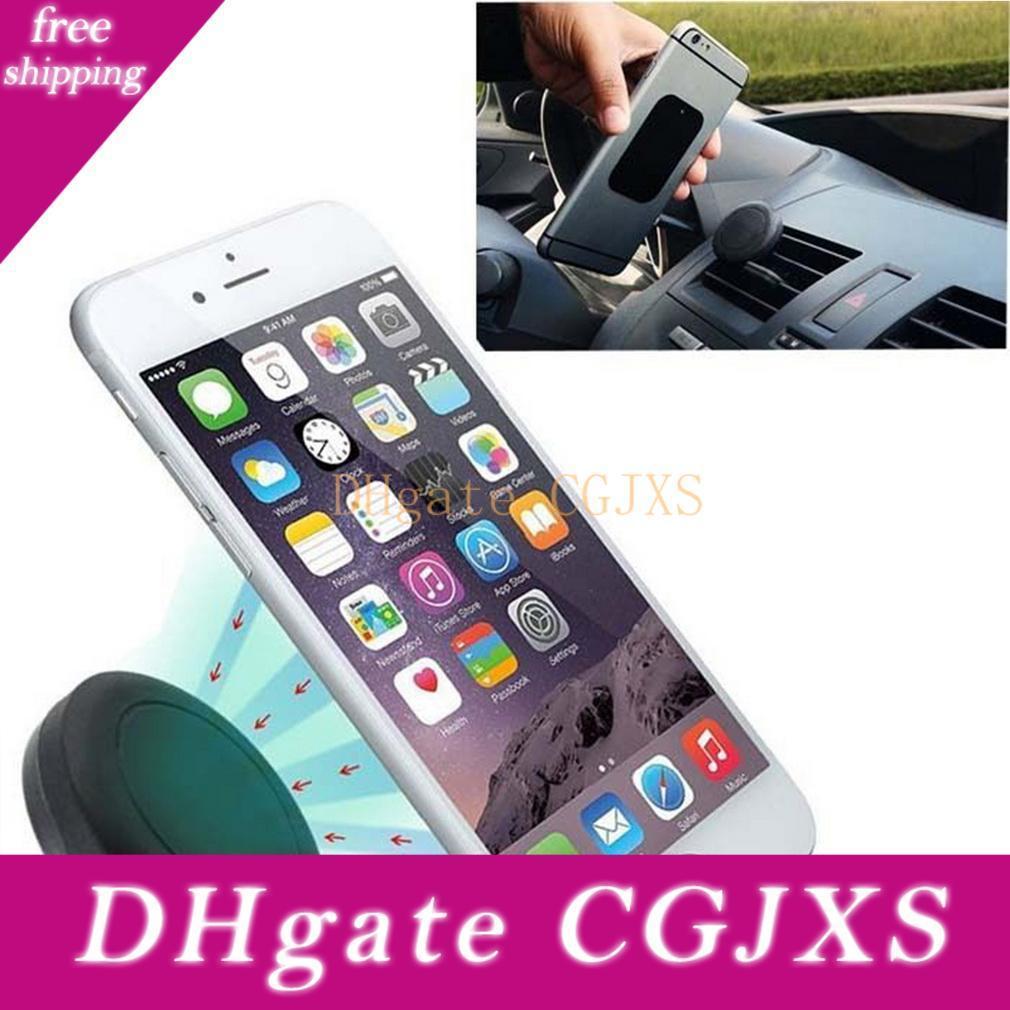 유니버설 자동차 공기 환기 마운트 클립 자석 홀더 독 아이폰 삼성 자석 홀더 태블릿 GPS의 suporte의 파라 celular