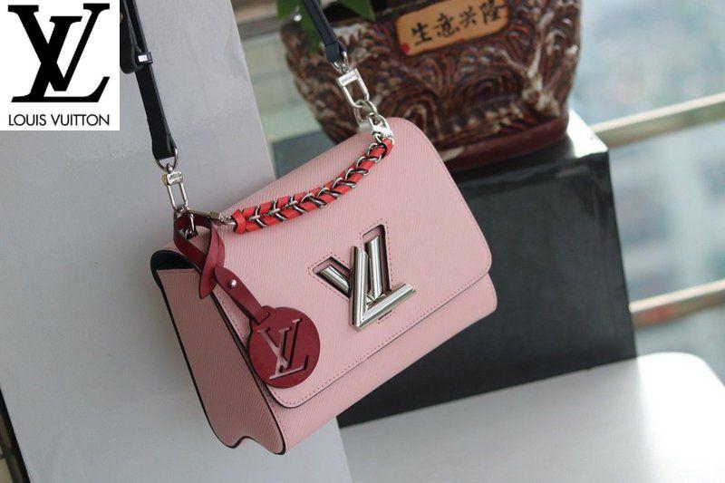 50330 Pink twill Women MEN HANDBAGS ICONIC BAGS TOP HANDLES SHOULDER BAGS TOTES CROSS BODY BAG CLUTCHES EVENING