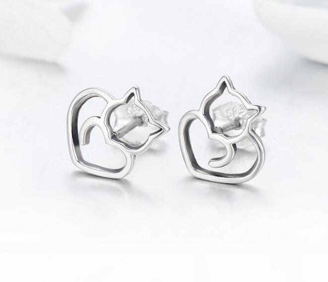 SPE 3-2 Ohrringe für Frauen-Edelstahl Zirkonia Ohrring-Sätze Art und Weise Ohrstecker Schmucksache-heißen Verkaufs