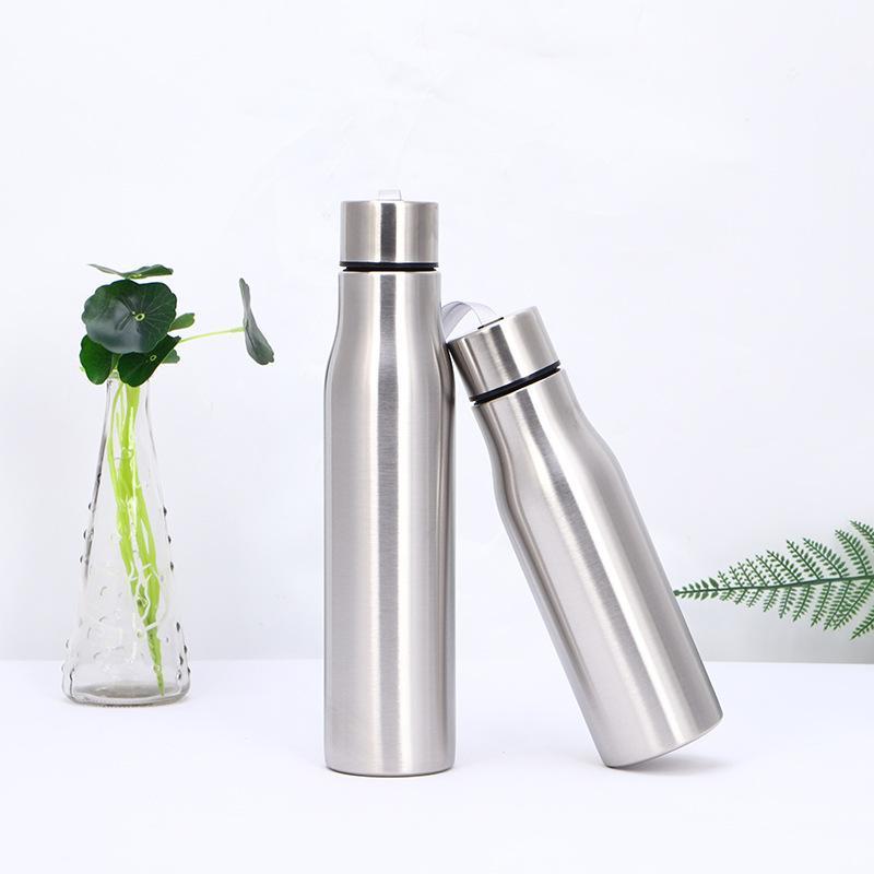 De água de aço inoxidável garrafa térmica com isolamento de viagem ao ar livre de aço inoxidável Tumbler Com Corda Café Leite Copos Cola GH453 Shaped