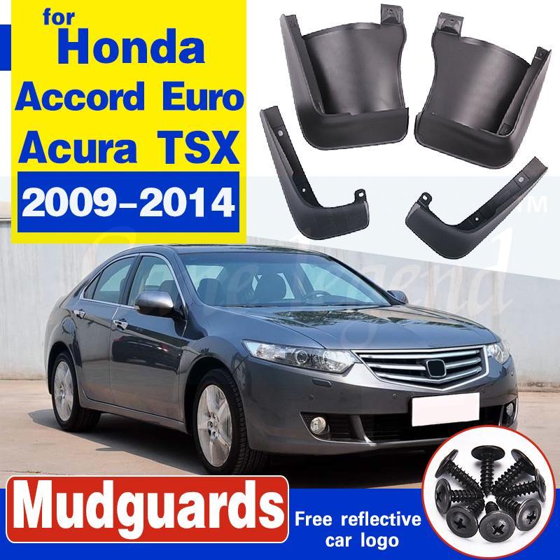 Schmutzfänger für Honda Accord Euro Acura TSX 2009 ~ 2014 Fender Mud Schutzklappe Splash Flaps Radschützer Zubehör 2010 2011 2012 2013