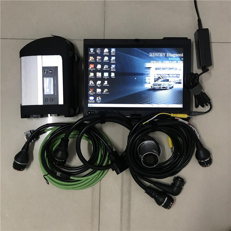 mb star c4 sd full set software v2020.12 hdd 320gb with laptop x200t touch ready to use for 12v 24v best quality full set