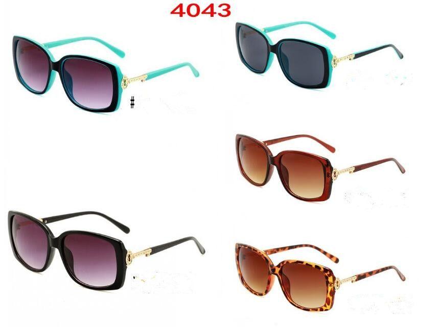 Fashion 4043 Nuovi occhiali da sole di marca di Diamante di lusso per le donne di moda occhiali da sole Designer occhiali da sole alla moda
