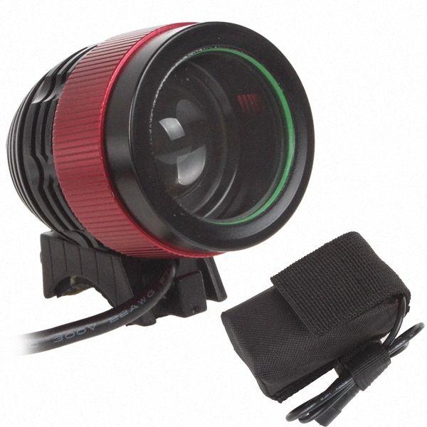 SecurityIng ventes NOUVEAU 2000lm 1x XM-L T6 LED vélo Lumière vélo LED Lampe frontale phare avec batterie rechargeable WjG9 #