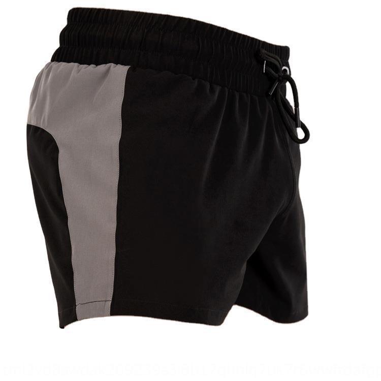 Muscle Beach et nouveaux sports de course pantalons pantalons tissés cinq plage occasionnels séchage rapide des frères Boy short fermeture éclair SEfO3
