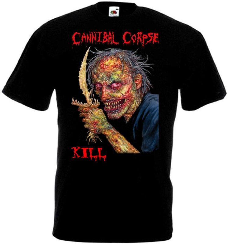 Cannibal Corpse matança v1 T-shirt death metal preto tamanhos S-5XL