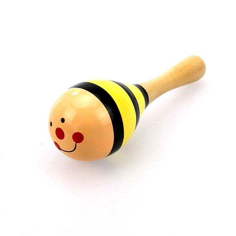 2020 nuevos juguetes musicales para niños Educación temprana Puzzle de madera Bebé dedo Arena Hammer Traacher Percussion Instrumento MEJOR REGALOS PARA NIÑOS