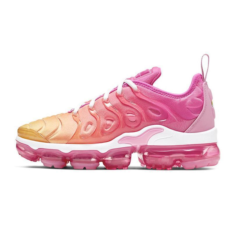 erkekler kadınların vprmax tn artı koşu ayakkabıları Medyum Pembe Buz Mavi Oyun Kraliyet Üçlü Beyaz Siyah Eğitmen Sneakers zapatos 36-45 mens