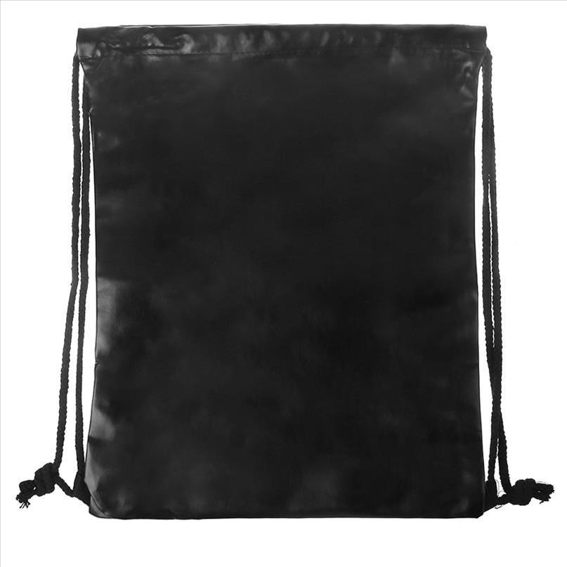 School Gym Bags Rucksack Tasche Kordelzug PU Frauen Wasserdichte Sport Sack Leder Versand Taschen Drop Cinch Mbcux